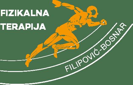 Fizikalna terapija logo bijeli